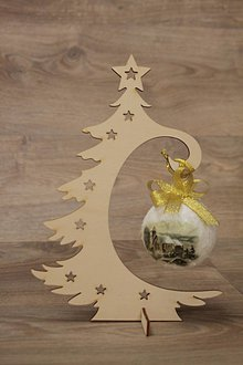 Dekorácie - Vianočný stromček - 10217168_