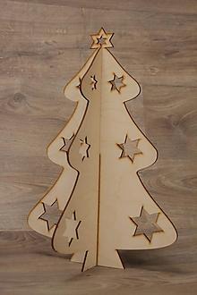 Dekorácie - Vianočný stromček veľký - 10217282_