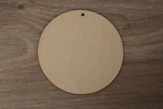 Dekorácie - Závesný kruh 7cm - 10217412_