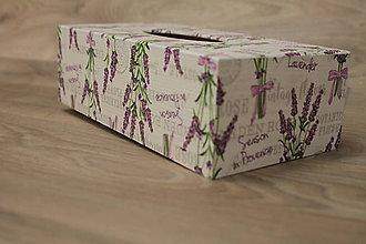 Krabičky - HM - Krabička na papierové vreckovky - podstava obdĺžnik - 10217773_