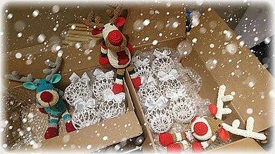 Dekorácie - Vianočné balíčky - 10216697_
