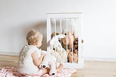 Nábytok - Kôš na hračky - 10218725_