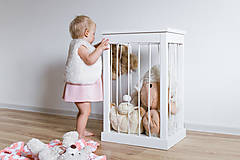 Nábytok - Kôš na hračky - 10218738_