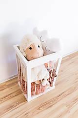 Nábytok - Kôš na hračky - 10219308_