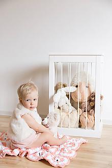 Nábytok - Kôš na hračky - 10218774_