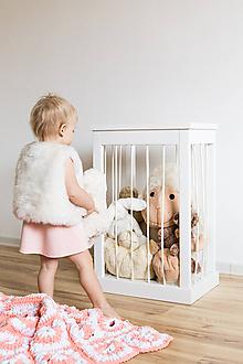 Nábytok - Kôš na hračky - 10218789_