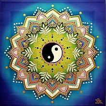 Obrazy - Mandala harmonického spolužitia - 10219357_