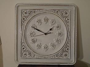Hodiny - Hodiny s ornamentom - 10216770_