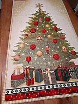 Úžitkový textil - Obrus Stromček 1 - 10219462_