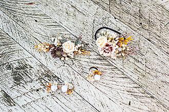 """Ozdoby do vlasov - Romantický setík """"vôňa trávy na jeseň"""" - 10216646_"""