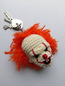 Kľúčenky - Klaun kľúčenka - 10219129_