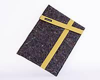 "Na notebook - Eko obal na notebook 15"" XL žltý - 10217143_"