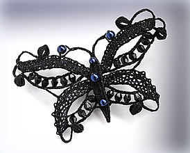 Odznaky/Brošne - Brož Noční motýl - 10216699_