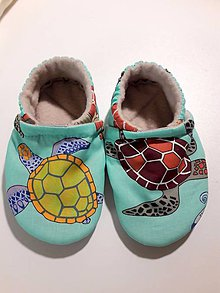 Topánočky - capačky korytnačky - 10219095_
