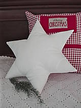 Úžitkový textil - Vankúš hviezda - 10219850_