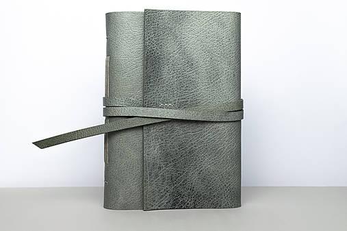 Kožený zápisník Severus