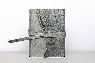 Papiernictvo - Kožený zápisník Ariana - 10219518_