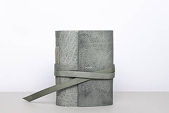 Papiernictvo - Kožený zápisník Draco - 10219878_