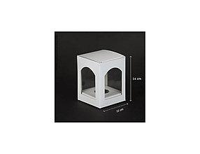 Obalový materiál - Papierová krabička na vian.guľu 10cm - 10219116_