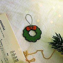 Dekorácie - ★ Vianočná ozdoba cartoon (vianočný veniec) - 10216748_