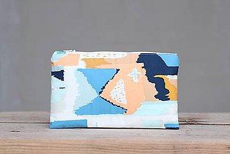 Taštičky - Taštička farebný abstrakt 1. - 10223254_
