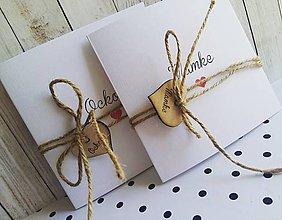 Darčeky pre svadobčanov - Poďakovanie pre rodičov - 10220432_
