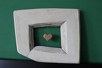 Rámiky - Srdce v ráme - 10220371_