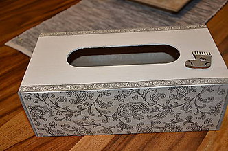 Krabičky - Krabička na hygienické vreckovky - 10220372_