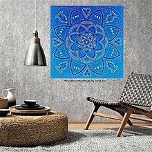 Obrazy - MANDALA PEŇAZÍ, KARIÉRY a ÚSPECHU -energetický obraz - 10222071_