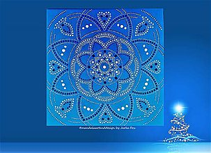 Obrazy - MANDALA PEŇAZÍ, KARIÉRY a ÚSPECHU -energetický obraz - 10222072_