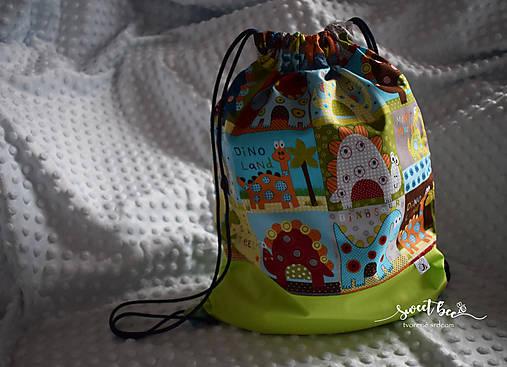 8e4376f68 Batoh dinoland / Sweet.bee - SAShE.sk - Handmade Batohy