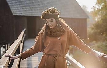 Čiapky - Baretka s nórskym vzorom - 10220990_