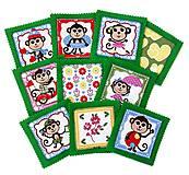 Hračky - Látkové pexeso Opice - 10221627_