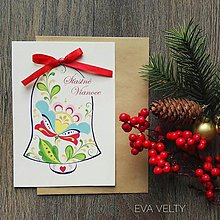 Drobnosti - Vianočné pohľadnice - 10222516_