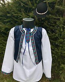 Detské oblečenie - Detská folklórna vestička - 10223041_