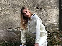 Mikiny - Mikina s kapucňou vanila - 10222303_