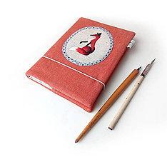 Papiernictvo - Zápisník Líška - A5 - 10220393_