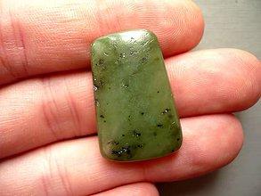 Minerály - Kabošon - jadeit 29 mm, č.1f - 10221553_