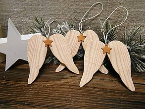 Dekorácie - Anjelské krídla - 10219993_