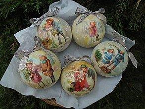 Dekorácie - vianoce z dávnych čias - 10221431_
