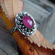 Prstene - Rubínový - 10222063_