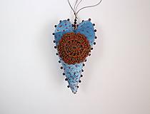 Dekorácie - srdcovka škoricová - 10224452_