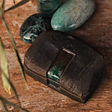 Nádoby - RAKU dóza kameň - 10224766_