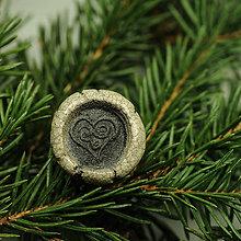 Prstene - RAKU prsteň - 10227204_