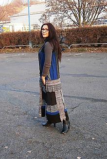 Šaty - lelošatky pepito s modrou II. - 10224471_