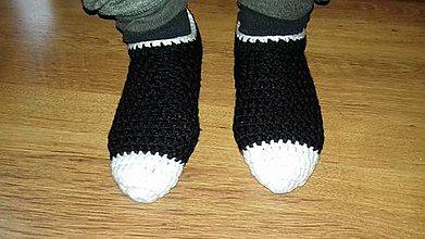 Doplnky - Pánske papuče domácke - 10224203_