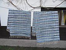 Úžitkový textil - tkaný koberec cca 70x160 cm prúžkový - 10227252_