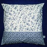 Úžitkový textil - Vankúš s vtáčikmi - 10223868_