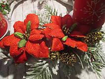 Dekorácie - Adventný svietnik - 10226992_