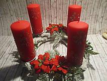 Dekorácie - Adventný svietnik - 10226994_